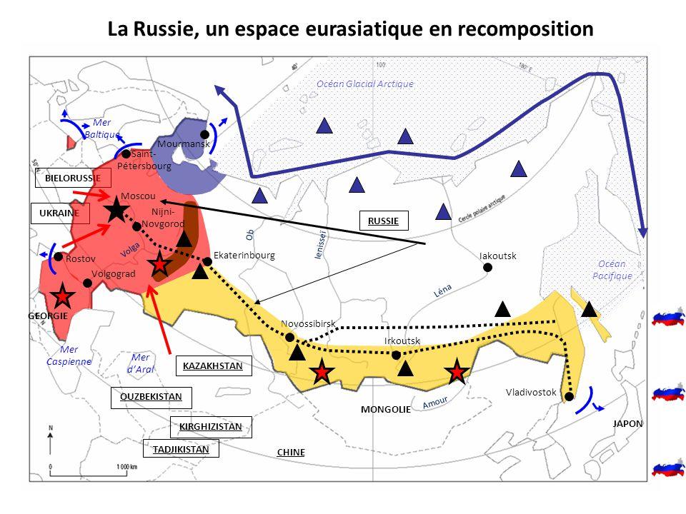 La Russie, un espace eurasiatique en recomposition