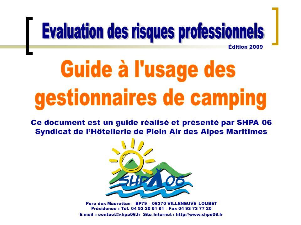 gestionnaires de camping