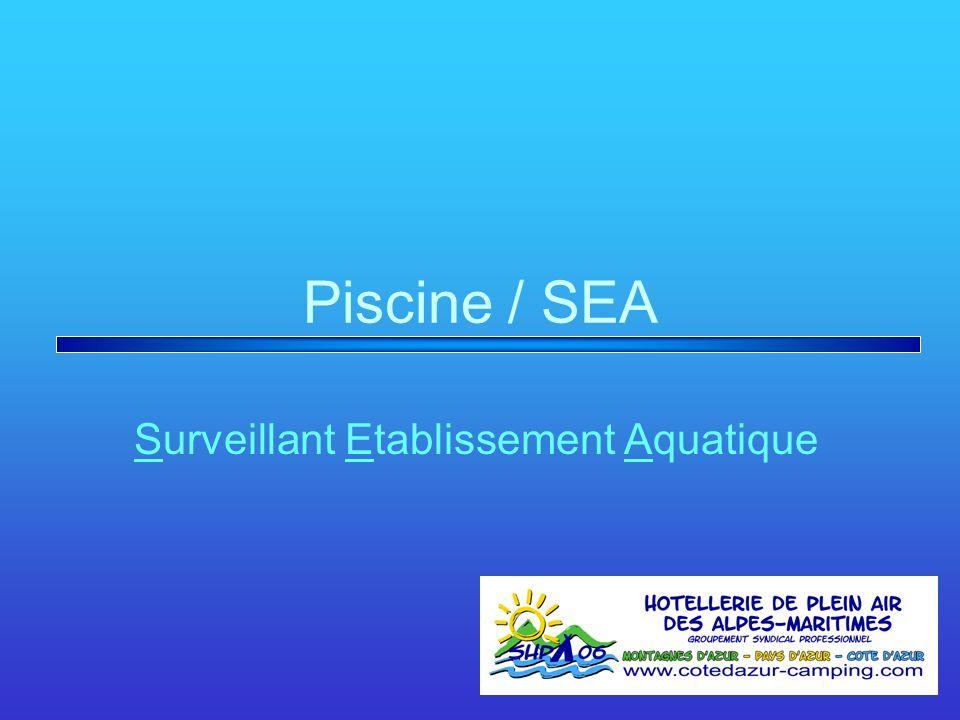 Surveillant Etablissement Aquatique