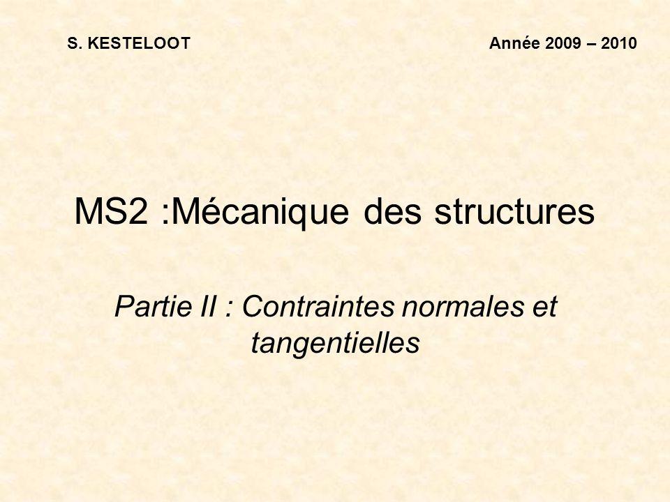 MS2 :Mécanique des structures