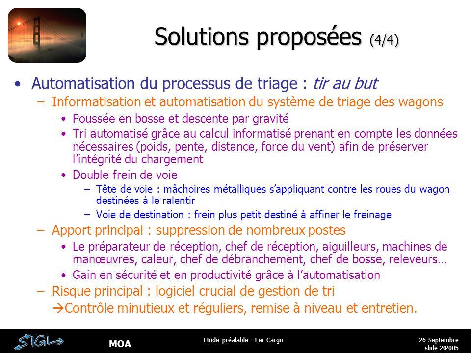 Solutions proposées (4/4)