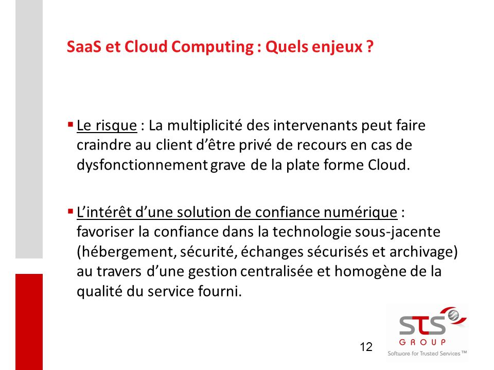 SaaS et Cloud Computing : Quels enjeux