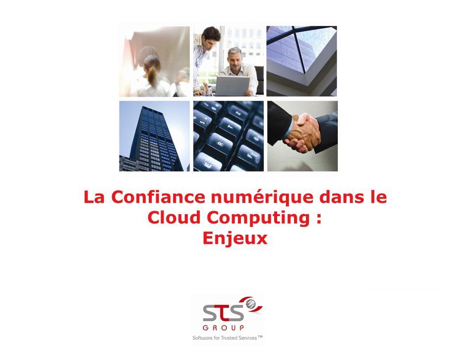 La Confiance numérique dans le Cloud Computing : Enjeux