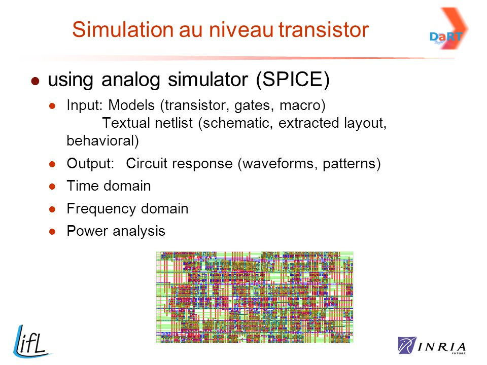 Simulation au niveau transistor
