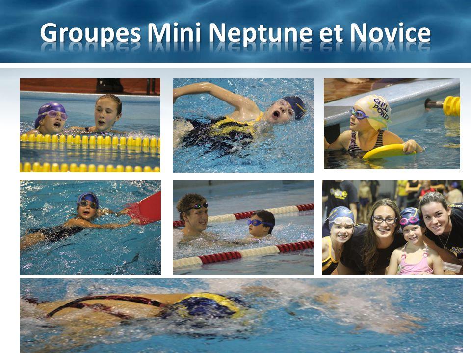 Groupes Mini Neptune et Novice