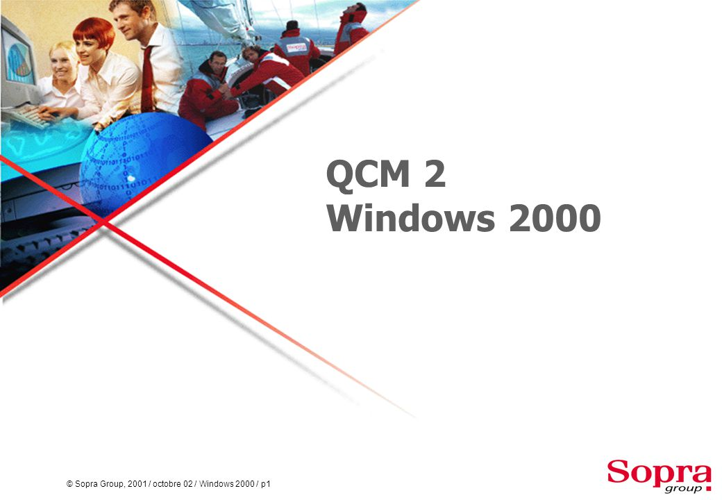 QCM 2 Windows 2000