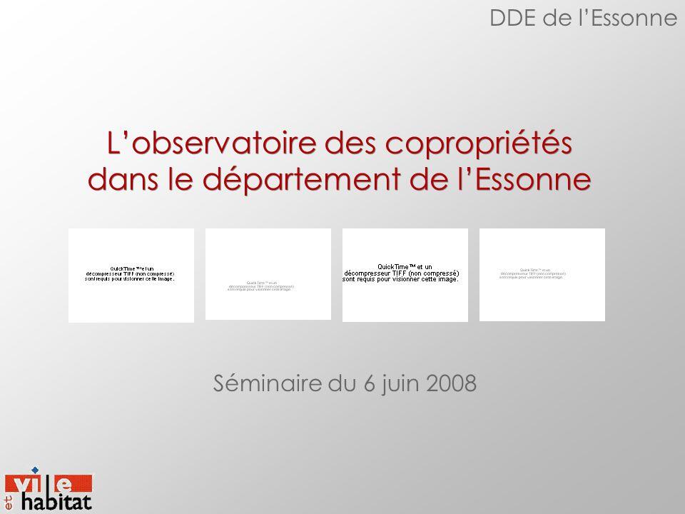 L'observatoire des copropriétés dans le département de l'Essonne