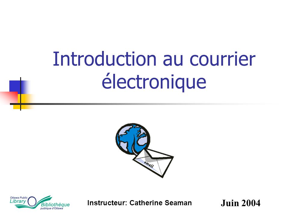 Introduction au courrier électronique