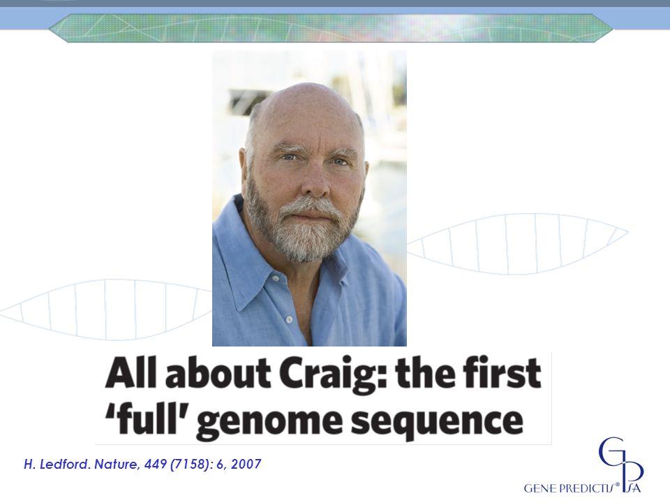 6 Milliards de paires de bases qui composent son patrimoine génétique, environ 25000 gènes