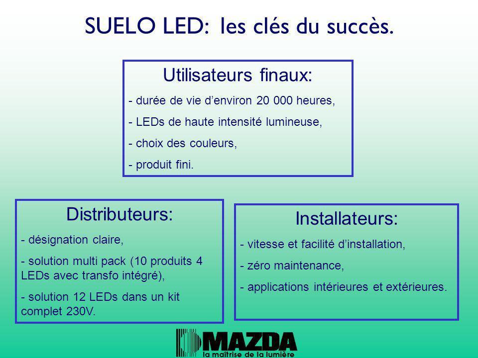SUELO LED: les clés du succès.