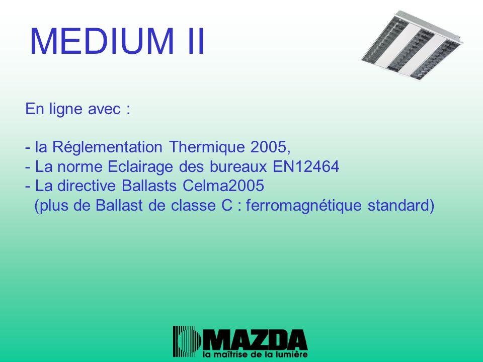 MEDIUM II En ligne avec : la Réglementation Thermique 2005,