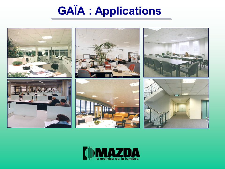 GAÏA : Applications