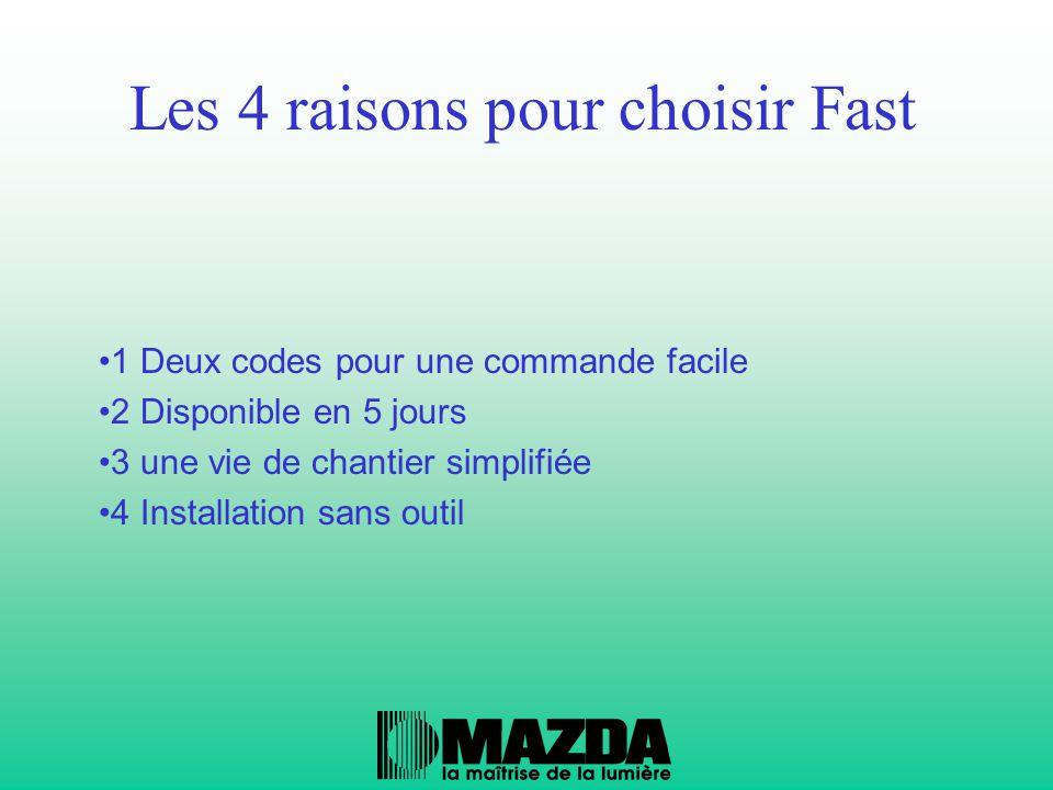 Les 4 raisons pour choisir Fast