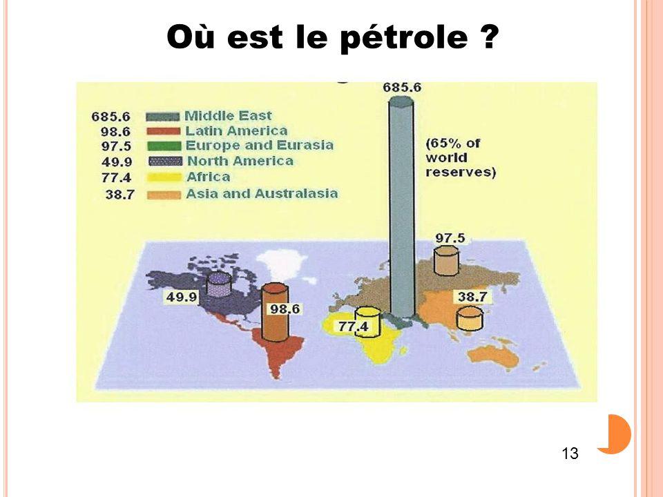 Où est le pétrole 13