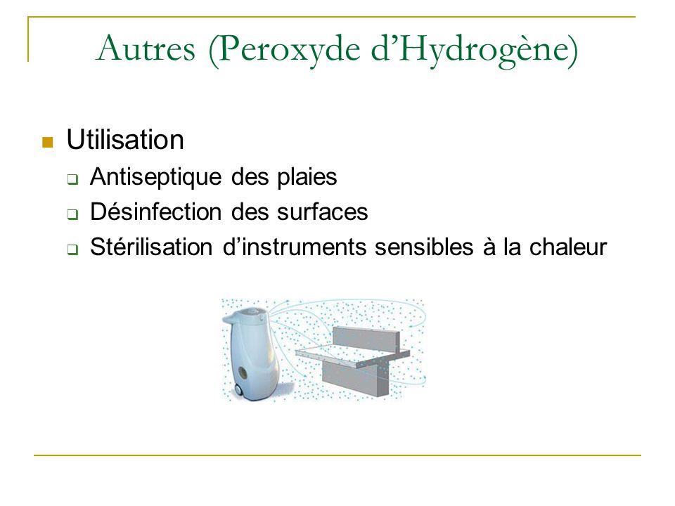 Autres (Peroxyde d'Hydrogène)