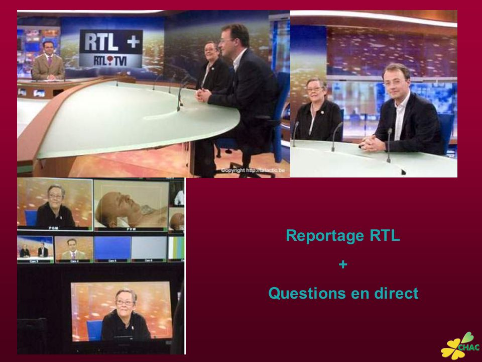 Reportage RTL + Questions en direct