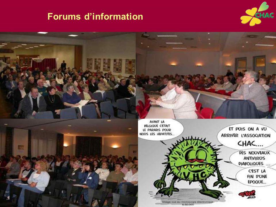 Forums d'information