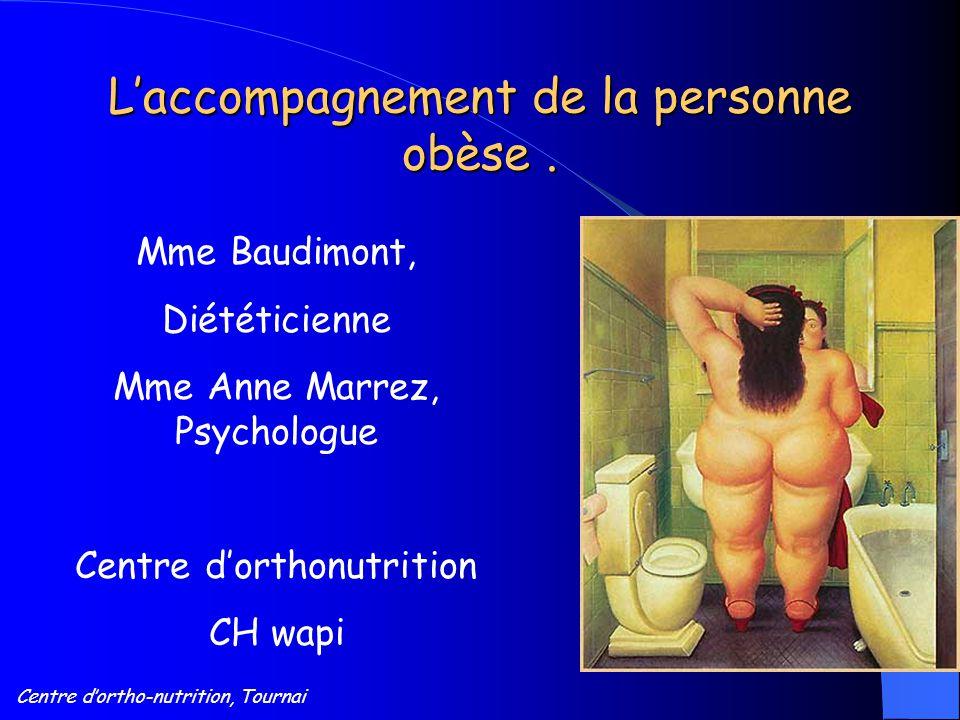 L'accompagnement de la personne obèse .