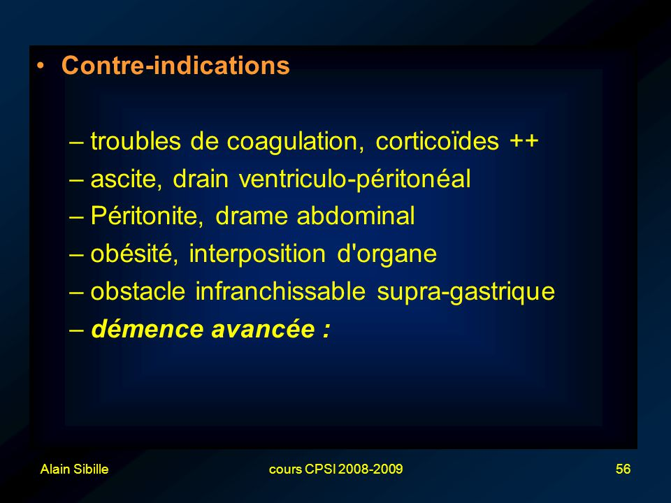 troubles de coagulation, corticoïdes ++