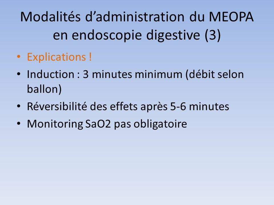 Modalités d'administration du MEOPA en endoscopie digestive (3)