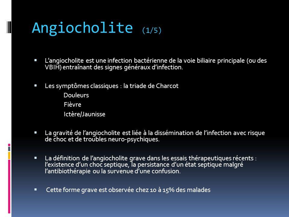 Angiocholite (1/5)