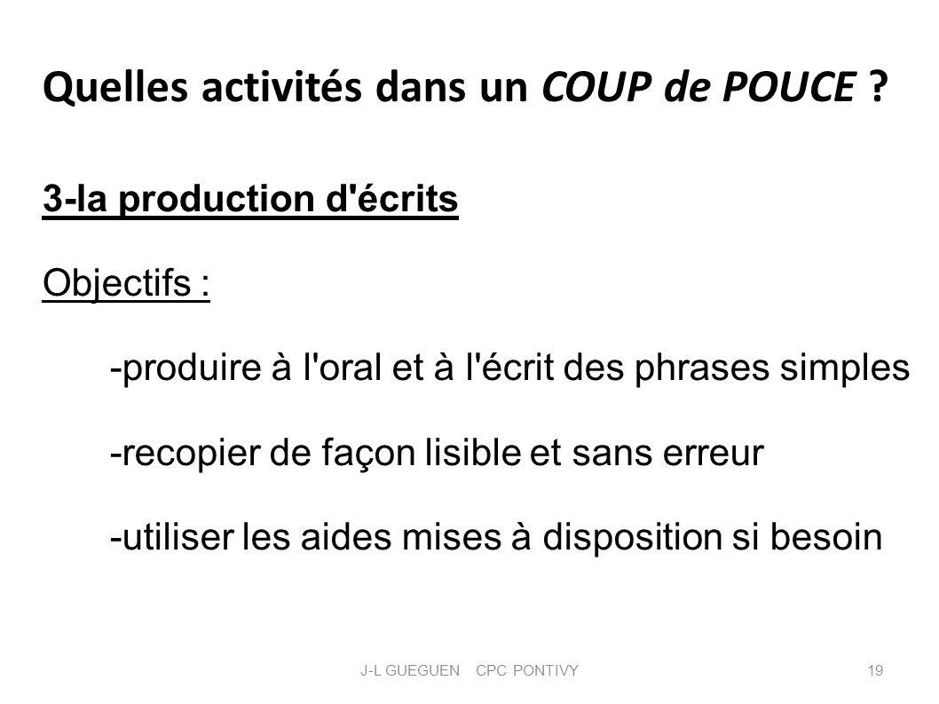 J-L GUEGUEN CPC PONTIVY