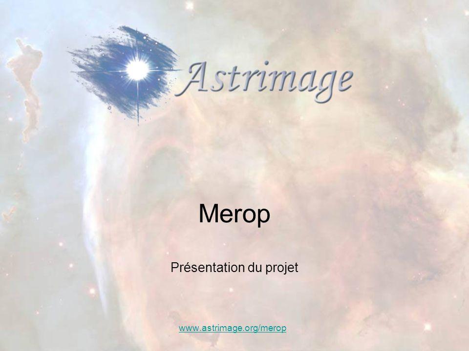 Merop Présentation du projet