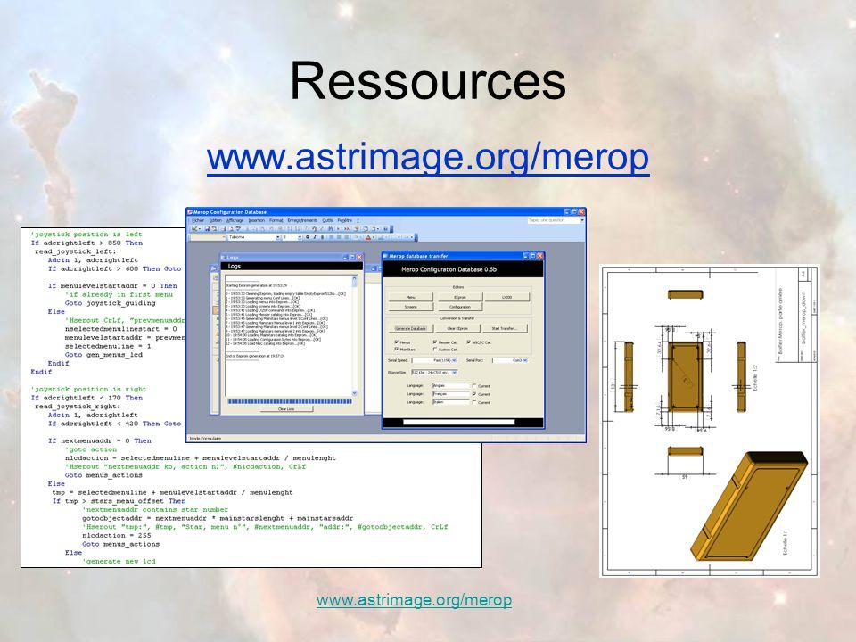 Ressources www.astrimage.org/merop