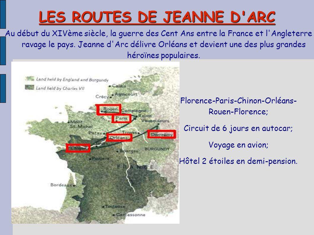 LES ROUTES DE JEANNE D ARC