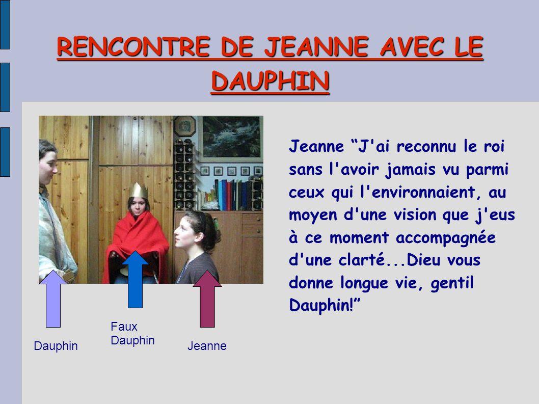 RENCONTRE DE JEANNE AVEC LE DAUPHIN