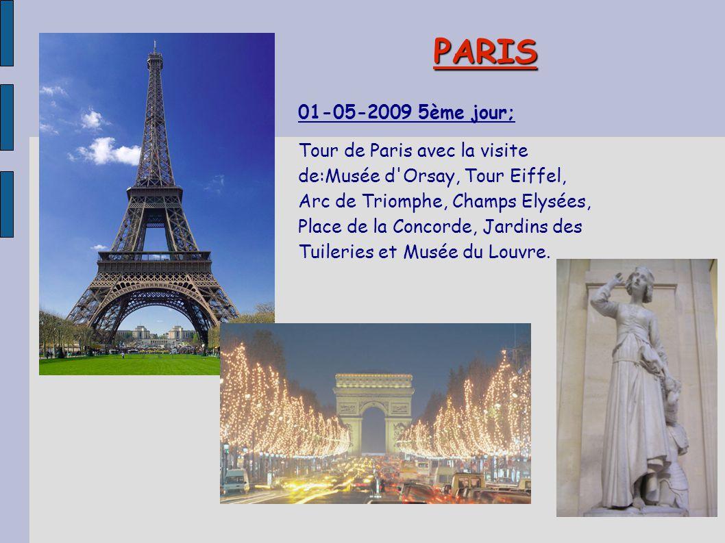 PARIS 01-05-2009 5ème jour;