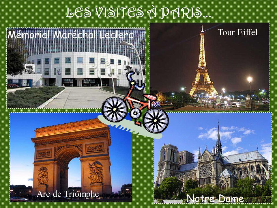 LES VISITES À PARIS... Mémorial Maréchal Leclerc Notre-Dame