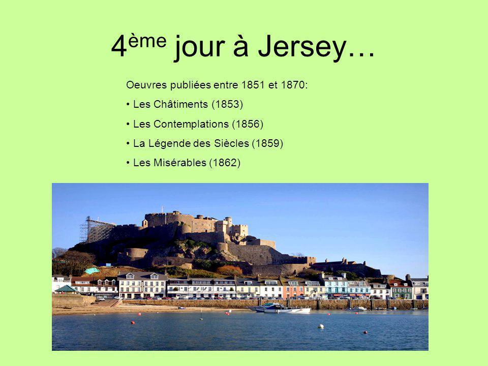4ème jour à Jersey… Oeuvres publiées entre 1851 et 1870: