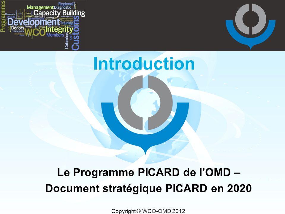 Le Programme PICARD de l'OMD – Document stratégique PICARD en 2020