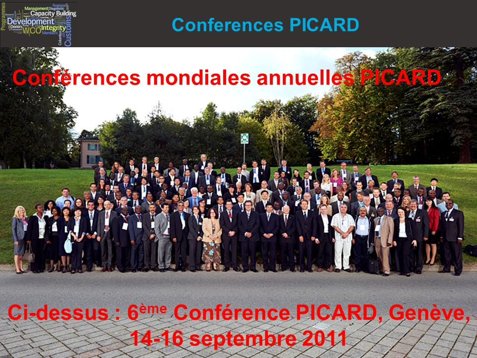 Conférences mondiales annuelles PICARD