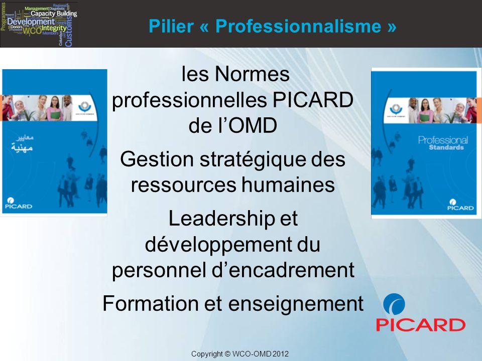 les Normes professionnelles PICARD de l'OMD