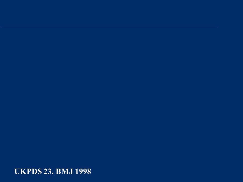 UKPDS 23. BMJ 1998