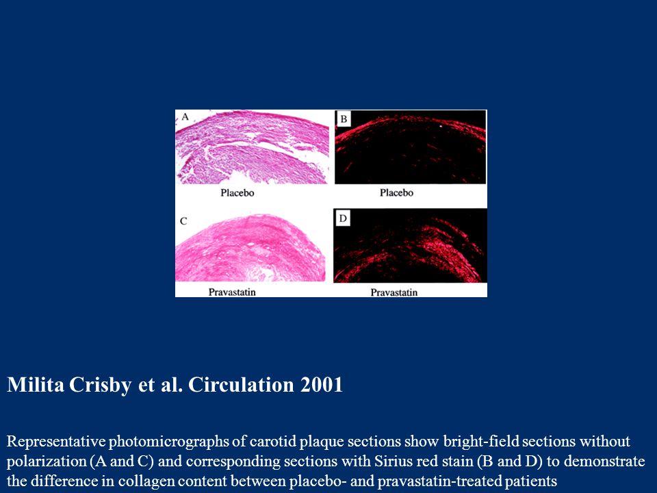 Milita Crisby et al. Circulation 2001
