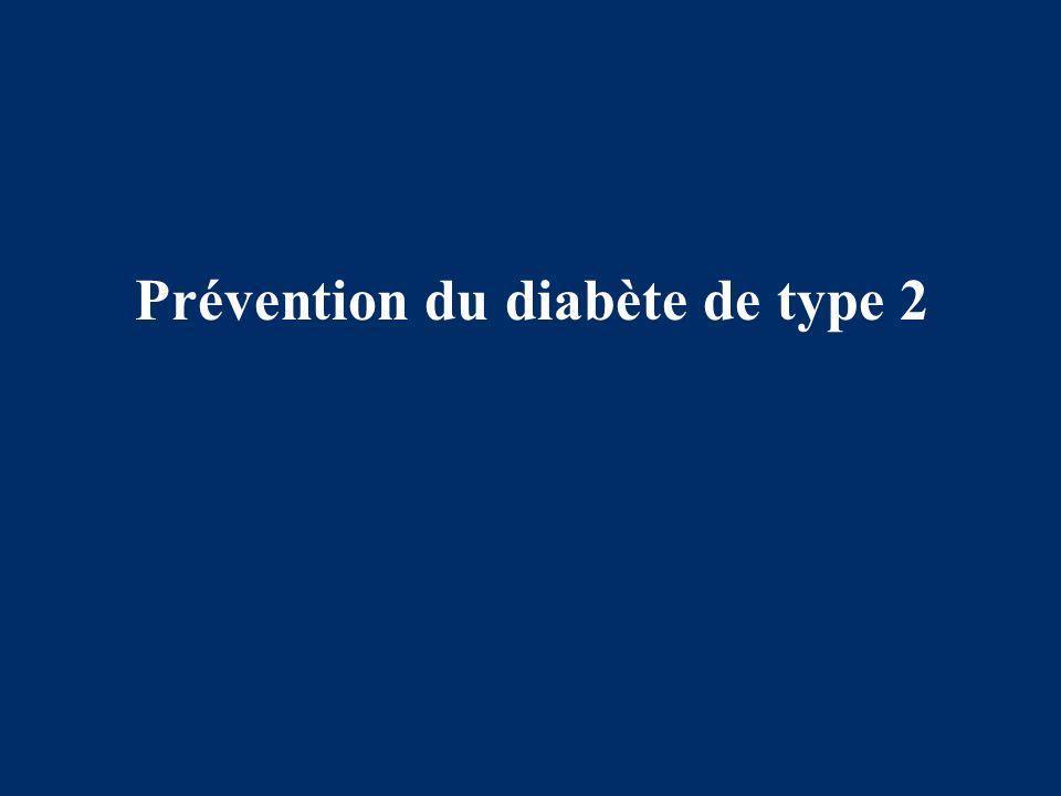 Prévention du diabète de type 2
