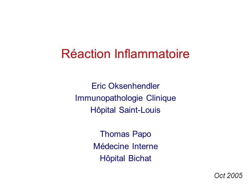 Réaction Inflammatoire