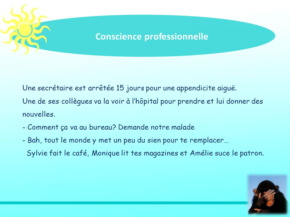 Conscience professionnelle
