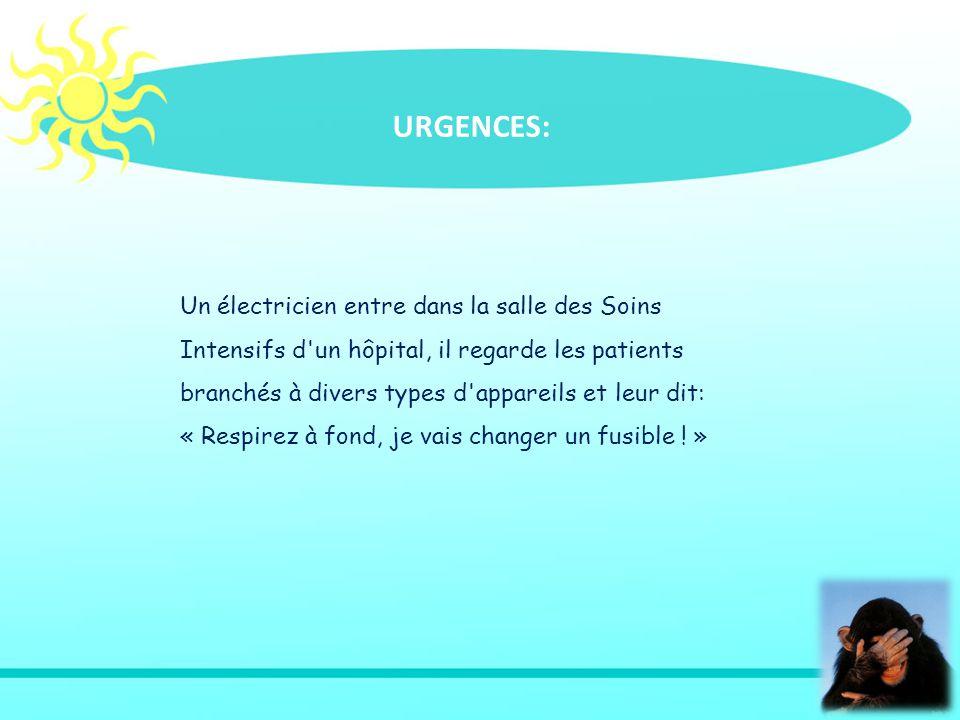 URGENCES:
