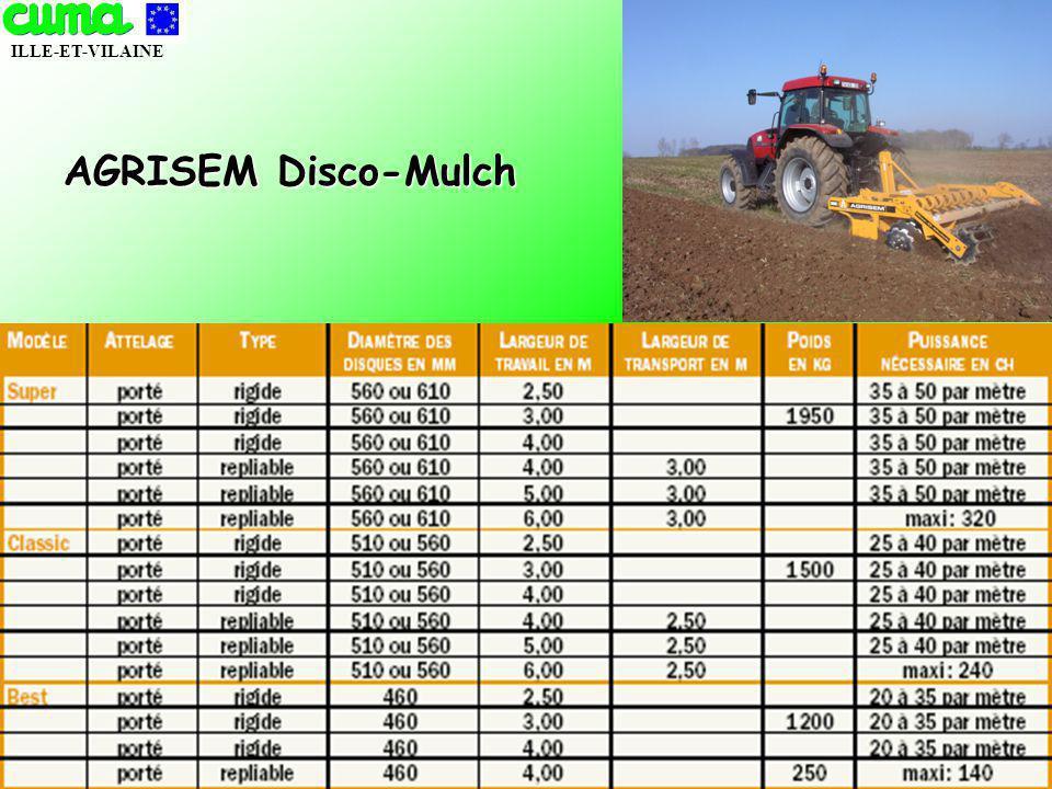 AGRISEM Disco-Mulch NOVEMBRE 2005