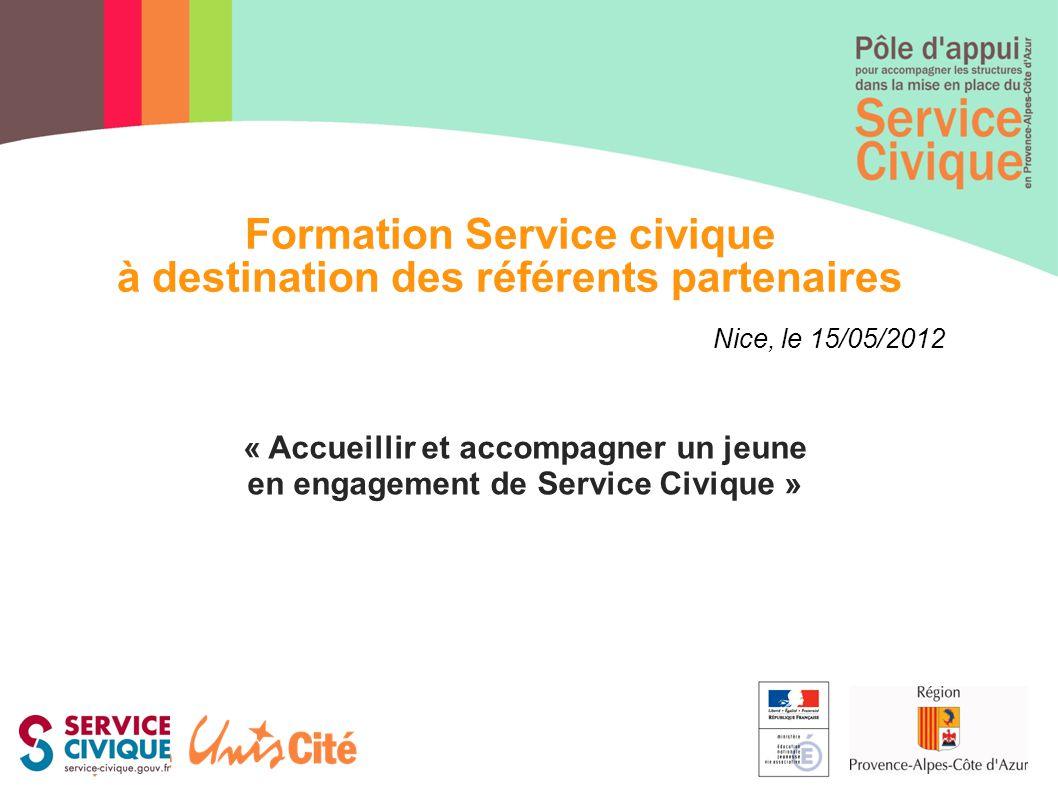 Formation Service civique à destination des référents partenaires