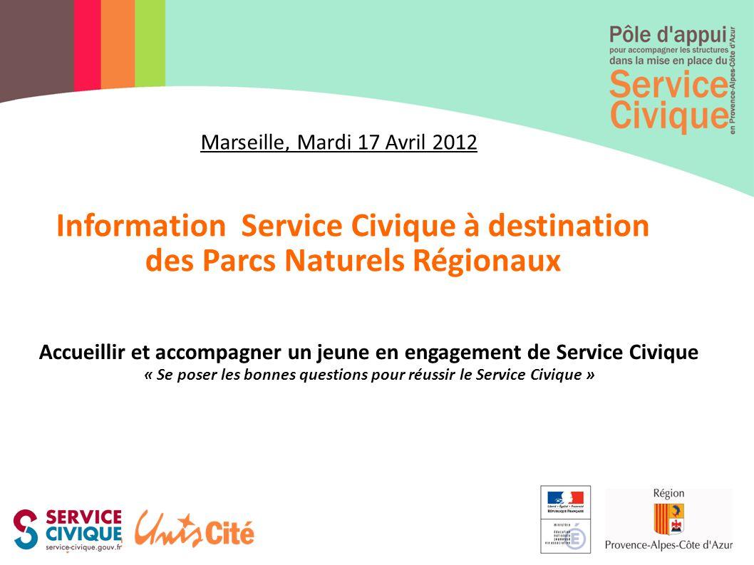 Information Service Civique à destination des Parcs Naturels Régionaux
