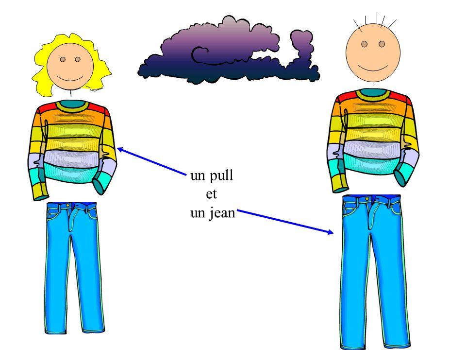 un pull et un jean