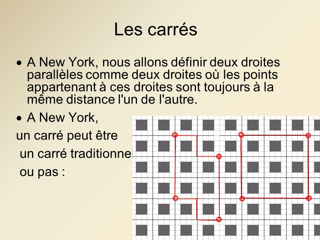 Les carrés