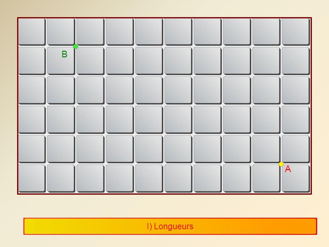 B A I) Longueurs 6 6