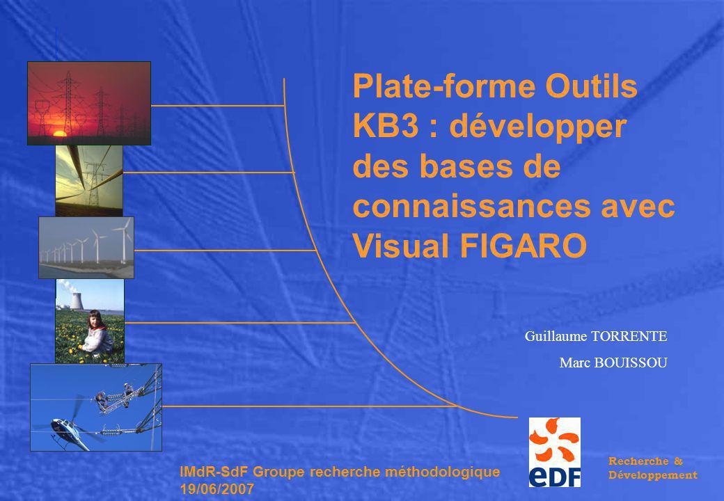 Plate-forme Outils KB3 : développer des bases de connaissances avec Visual FIGARO
