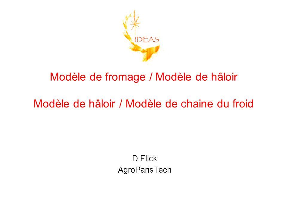 Modèle de fromage / Modèle de hâloir Modèle de hâloir / Modèle de chaine du froid